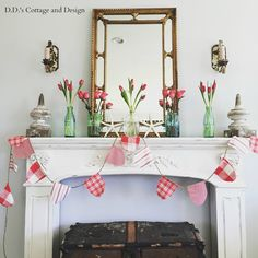 D.D.'s Cottage and Design: Wordless Wednesday-My Instagram ( my home and projects)
