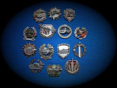 Big set of metal medals for gamers World of tanks and all other - NEW !!!