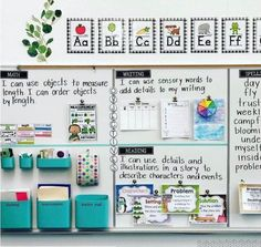 83 Best Classroom Organization Ideas - Chaylor & Mads <br> The best ideas in classroom organization This includes the best ideas to organize your bookshelves, create an epic teacher cart, plus create the perfect space just for you! First Grade Classroom, New Classroom, Classroom Design, Setting Up A Classroom, Year 3 Classroom Ideas, Classroom Objectives, Classroom Supplies, Classroom Agenda Board, Ideas For Classroom Decoration