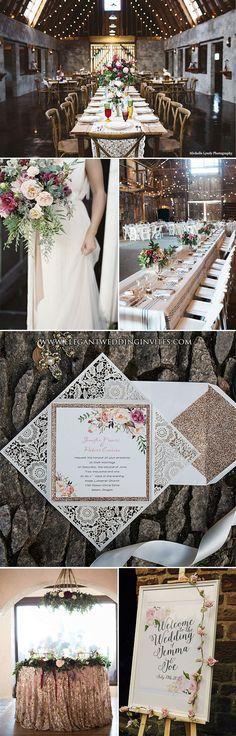 bohemian style chic rustic wedding ideas
