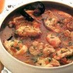 Zuppa di pesce alla ligure