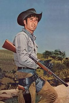 Robert Fuller (Jess Harper on Laramie, Cooper Smith on Wagon Train)