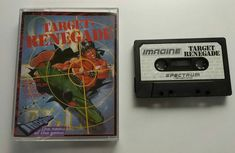 Sinclair ZX Spectrum: Target Renegade (Cassette UK)  For me the best beat'em up for Spectrum and one of the best for 8 bit.  Featuring side scroll coop multiplayer (wow!) this jewel had a single load and fantastic music when loading in 128K. Worth every second of its long load.  One of the games that defined my childhood . Tags:  #retrogaming #retrogames #sinclair #zxspectrum #spectrum #renegade #nekketsukouhakuniokun #kuniokun #targetrenegade