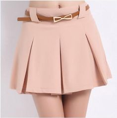 Saia Limited 2014 Spring And Summer Candy Color Loose Plus Size Chiffon High Waist Shorts Skorts Women's All-match Short Skirt € Short Skirts, Short Dresses, Mini Skirts, Venus Swimwear, Latest Fashion For Women, Womens Fashion, Mix And Match Bikini, High Waisted Shorts, Cute Fashion