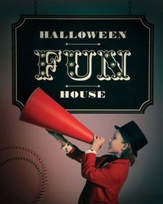 Turn a fun house into a Halloween haunted house with a spinning game wheel, distorted mirrors, and crowd-pleasing food and photo ops. Haunted Carnival, Creepy Carnival, Carnival Themes, Halloween Carnival, Holidays Halloween, Carnival Images, Circus Theme, Halloween Haunted Houses, Halloween Ghosts