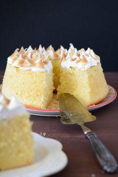 Gâteau mousseline au citron {lemon chiffon cake}