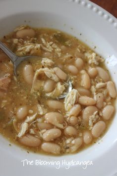 Recipe for White Chicken Chili