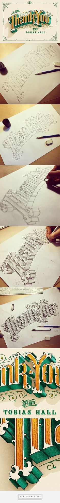 thank you - cool typography examples to inspire you