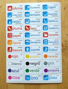 Vocabulary Stickers - Kickstart your language learning – VocabularyStickers™