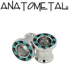 - Super Gemmed Eyelets - ANATOMETAL - Professional Grade Body Piercing Jewelry