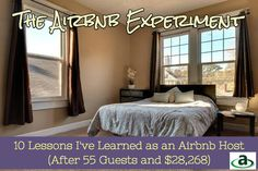 The Airbnb Experiment / 10 Lessons I've Learned as an Airbnb Host  / (After 55 Guests and $28,268) #airbnb #airbnbcoupon #coupon