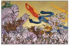 Fantastic Four Outnumbered - Geof Darrow