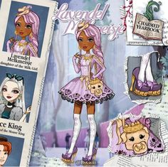 Ever After High Names, Ever After High Rebels, Art Style Challenge, Monster High Art, Ever After Dolls, Right In The Childhood, Im A Princess, Beautiful Anime Girl, Monster High Dolls