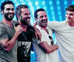 tyler hoechlin, jr bourne, ian bohen and daniel sharman--Just a few of the hunks featured on MTV's rendition of Teen Wolf