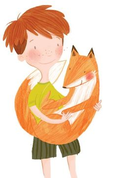 Amber Cassidy Illustration - amber cassidy, amber, cassidy, digital, picture book, novelty, fiction, commercial, trade, children, boys, foxes, people