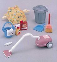 New Sylvanian Families Calico Critters Dolls Vacuum Cleaner Set ka-607 Japan