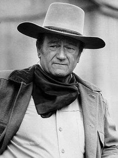 CHISUM (1970) - John Wayne on location near Durango, Mexico.