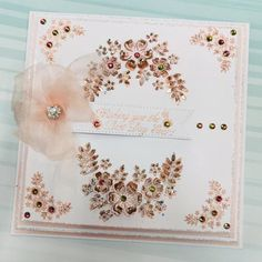Dies by Chloe - Flower Spray - - Dies By Chloe Flower Spray - Chloes Creative Cards Chloes Creative Cards, Stamps By Chloe, Flower Spray, Crafters Companion, Card Making Techniques, Blossom Flower, Emboss, Birthday Cards, Projects To Try
