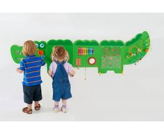 The Crocodile Game Wall Panel