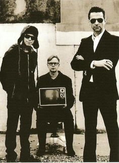 Depeche Mode: one of dad's favorites, I think my electronica love stems from listening to them growing up.