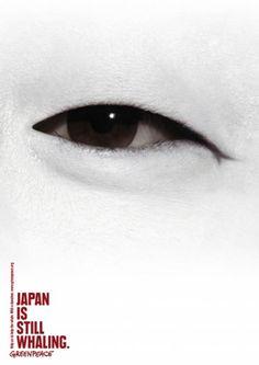 JAPAN IS STILL WHALING, Environmental Awareness, Jung Von Matt, Greenpeace, Print, Outdoor, Ads