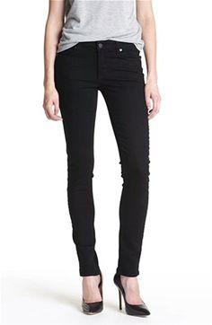 Paige Denim 'Skyline' Skinny Stretch Jeans (Black Ink) | Nordstrom