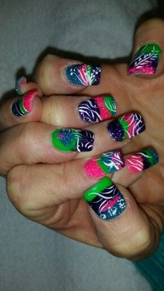 Sea wall nail design