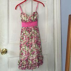"Selling this ""Trixxi floral dress"" in my Poshmark closet! My username is: ekosi21. #shopmycloset #poshmark #fashion #shopping #style #forsale #Trixxi #Dresses & Skirts"