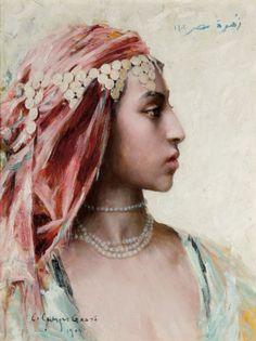 Georges Gasté (French, 1869-1910). Fleur d'Egypte, Le Caire, 1904
