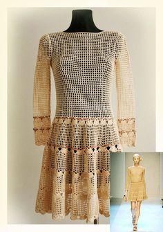 Crochet dress patterns for women photo - 1