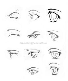 anime eyes colouring pages