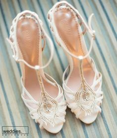Here's What I Know About Bridal Shoes Never buy wedding shoes that are snug. Moreover, choosing wedding shoes is one of the abundance of choices a bride is going to have to make. White Wedding Shoes, Wedding Boots, Wedding Heels, Wedding Hair, Wedding Bride, Bridal Hair, Valentino Wedding Shoes, Art Deco Stil, Bridal Heels