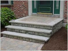 steps for front of house designs ideas front steps