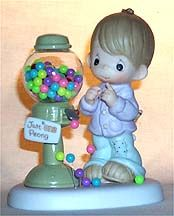 limited edition precious moments figurines | Enesco Precious Moments Figurine - Count Your Many Blessings