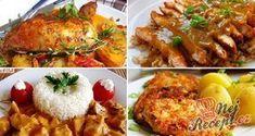 12 skvělých receptů, díky kterým už budete vědět co navařit na neděli! Czech Recipes, Ethnic Recipes, Borscht Soup, Seafood Dishes, Tasty Dishes, Tandoori Chicken, Food Videos, Breakfast Recipes, Vitamins