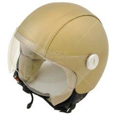 Vendita Caschi Moto Napoli CV437 #hornhelmet #helmet #casco #personalizzato #custom #beige