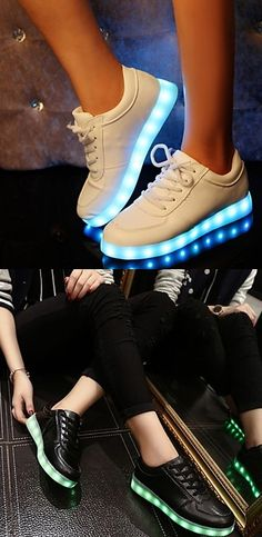 LED sneakers are not going anywhere. Which color do you prefer? Click to get your pair.