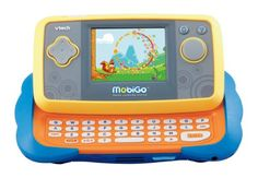 VTech - MobiGo Touch Learning System Handheld educational toys are becoming  more and more popular with children of today, and Vtech's offer.