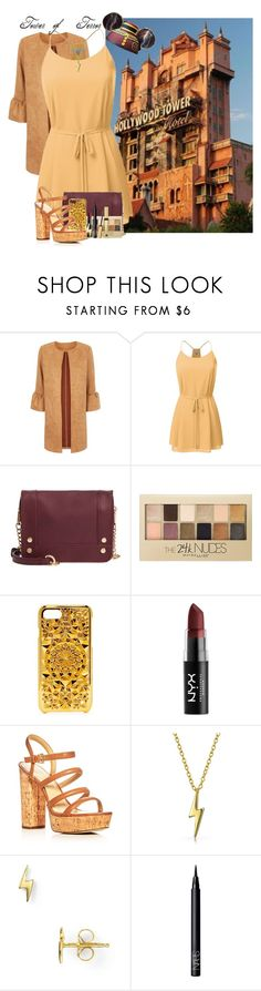 """Tower of Terror"" by allyssister ❤ liked on Polyvore featuring Disney, BP., Maybelline, Felony Case, NYX, MICHAEL Michael Kors, Bling Jewelry, Dogeared, NARS Cosmetics and Estée Lauder"