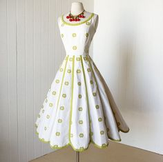 Image result for full skirt 1950s dress