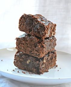 Fudgy Black Bean Brownies | Community Post: 13 Amazing Brownies To Satisfy Your Sweet Tooth