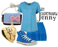 Jenny from Oliver and Company DisneyBound Movie Inspired Outfits, Disney Inspired Fashion, Disney Fashion, Themed Outfits, Women's Fashion, Casual Cosplay, Cosplay Outfits, Modern Outfits, Cute Outfits