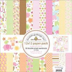 Doodlebug - Sugar & Spice Paper