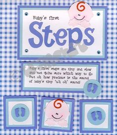 baby boy scrapbook page ideas | Scrapbook Ideas Scrapbook Pages @ Piece of Scrap | Babies Layout Idea ...