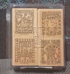 Stampin' Up! Retired GIFTED GREETINGS WM Stamps Congratulations Welcome Baby in Crafts, Stamping & Embossing, Stamps | eBay