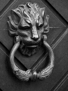 gothic door knocker