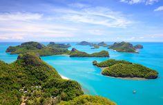 Angthong national marine park, koh Samui