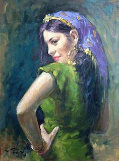 Bahhiyah Al Massriya - by Egyptian Artist Mahmoud Feteih