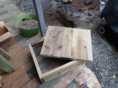 diy wooden septic tank riser cover - Garden Ideas To Hide Septic Tank