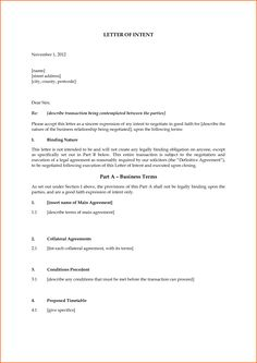 7 Letter Of Intent Template Budget Template Letter Letter Of Intent Example  Uk  Letter Of Intent Template Uk